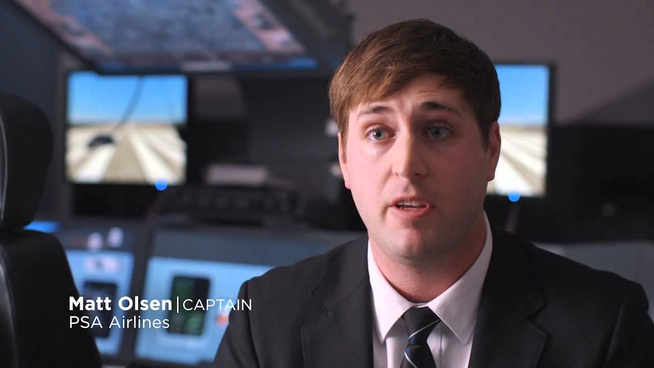 Captain Matt Olsen - Pilot Support System at PSA Airlines