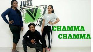 Chamma Chamma - zumba fitness | JUST V DANCE STUDIO | Neha Kakkar, Romi, Arun, Ikka