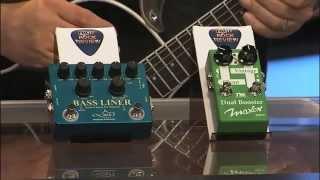 HAO Bass liner & Maxon Dual Booster Pedals from Godlyke - FOX 17 Rock & Review