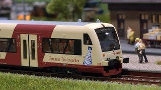 Modelleisenbahn Gammertingen Spur H0 Anlage von der IG Moba Neuhausen