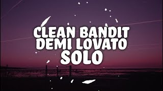 Video Clean Bandit - Solo feat. Demi Lovato (Lyrics) download MP3, 3GP, MP4, WEBM, AVI, FLV Agustus 2018