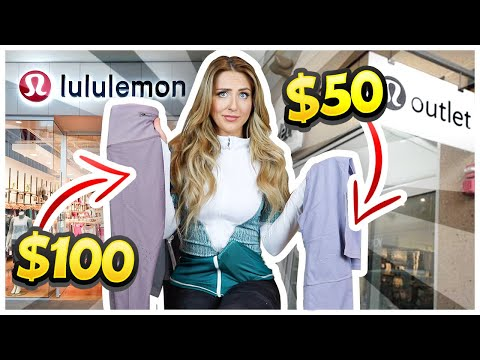 The Ugly Truth About OUTLET STORES: Lululemon, Nike, Adidas EXPOSED