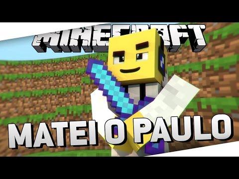 SKY WARS: MATEI ATÉ O PAULO - Minecraft