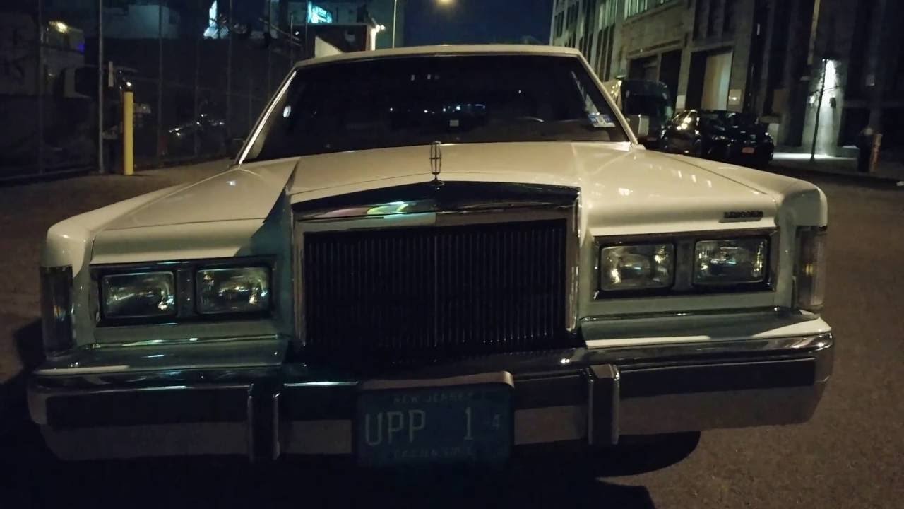 1988 Lincoln Town Car Limousine Youtube