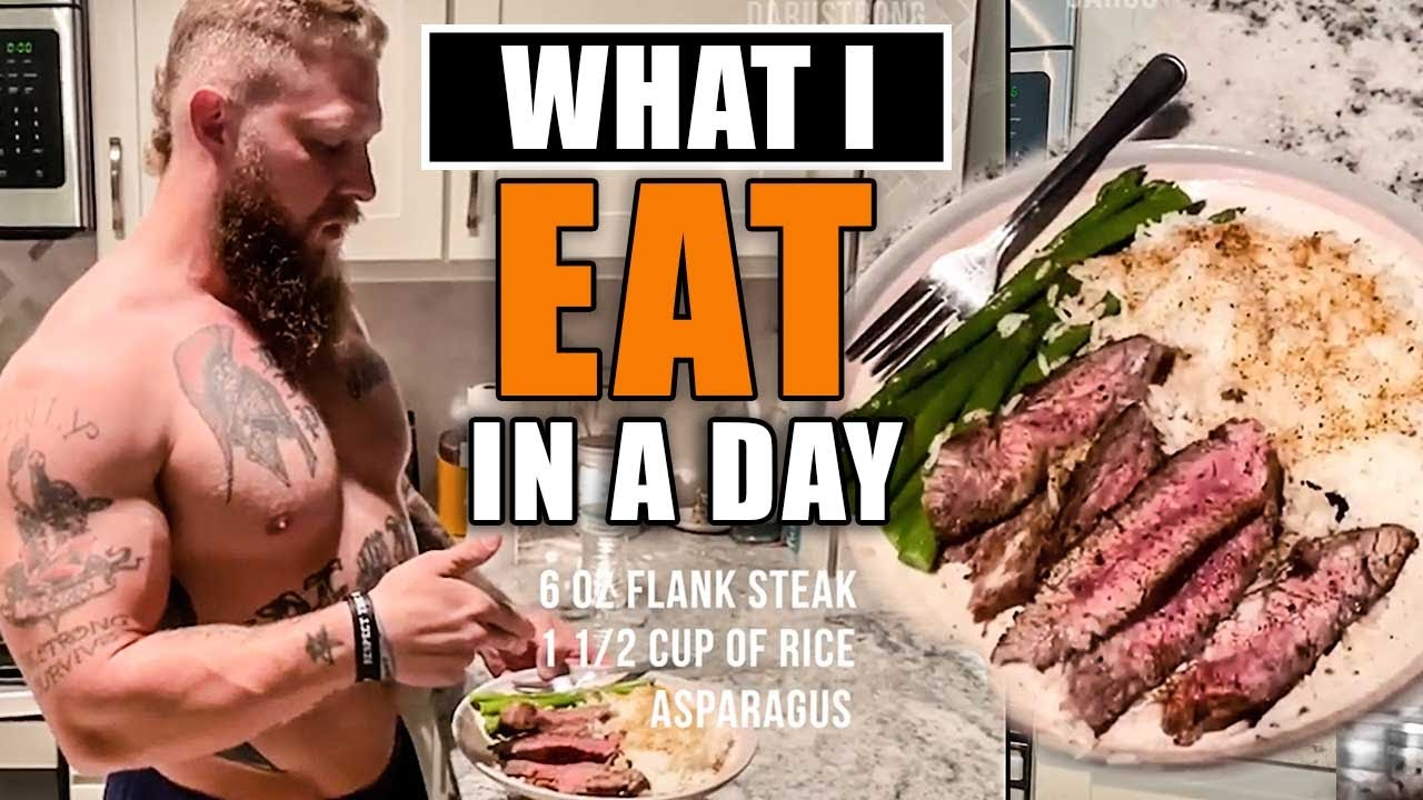 What I Eat in a Day For MMA [Shopping List + Grocery Haul] - Phil Daru
