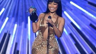 Nicki Minaj Calls Out Miley Cyrus At The VMAs (FULL) (2015 Video Music Awards) [2015 VMA]
