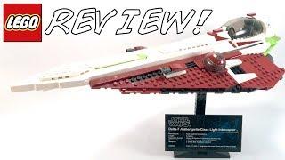 LEGO Star Wars 10215 UCS Obi-Wan's Jedi Starfighter Review!