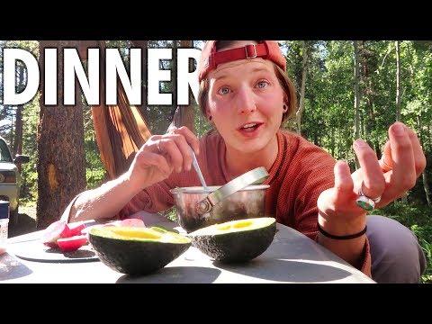 Dinner // 13ft Scamp Trailer