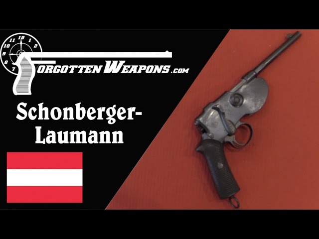 Laumann 1891 and Schonberger-Laumann 1894 Semiauto Pistols