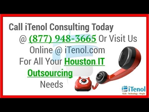 IT Outsourcing Houston (877) 948-3665 Houston IT Outsourcing