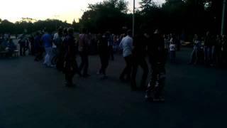 урок латинских танцев в Парке Горького