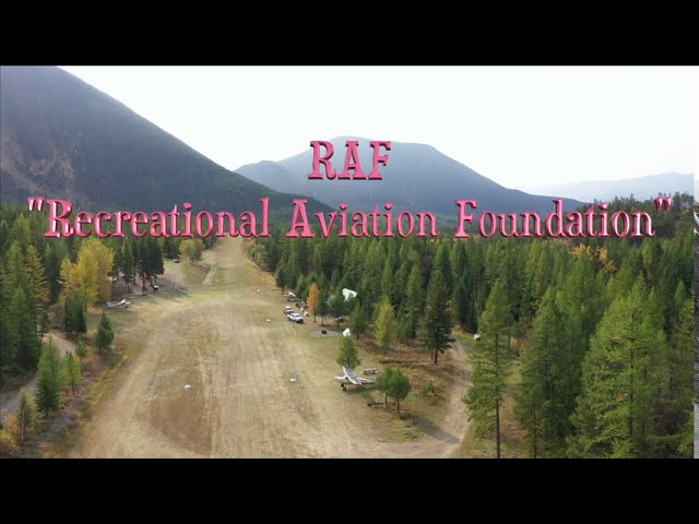 The Coolest Back Country Airstrip -- Ryan Airfield  by RAF -  Montana