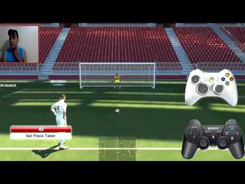 GAME TUTORIAL PES 2014  Penalty Tutorial