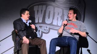 Patton Oswalt and Patrick Wilson from WORD Bookstore - Full Interview