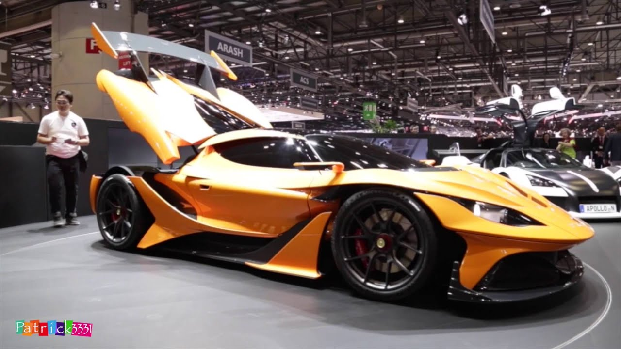 Apollo arrow gumpert geneva auto salon 2016 geneva for Salon geneve auto