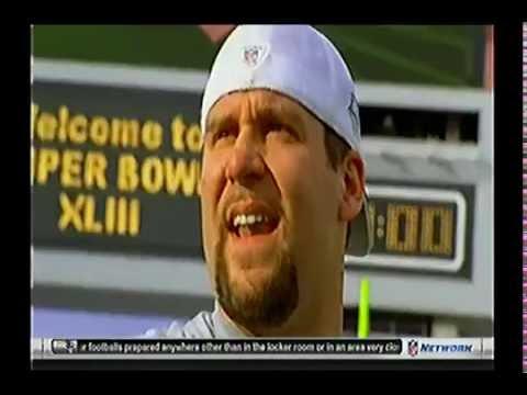 Super Bowl XLIII  Pittsburgh Steelers vs Arizona Cardinals