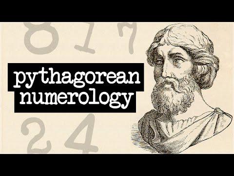 Pythagorean Numerology: Intro To Pythagoras Numerology