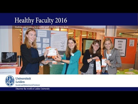 Healthy Faculty 2016   Leiden University Health Psychology  (English)