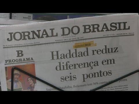 البرازيل: انتخابات رئاسية يسودها التوتر وسط توقع فوز مرشح اليمين المتطرف  - 12:54-2018 / 10 / 28
