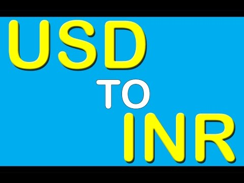 About Usd To Inr Exchange Rate And Market
