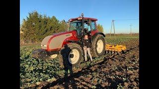 #166- Listopadowe talerzowanie z Oliwią ! Valtra T140+ Staltech UH40