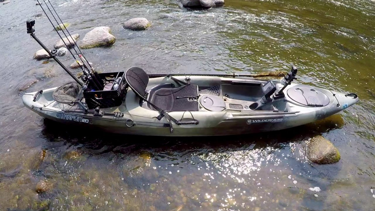 My tarpon 120 fishing kayak youtube for Used fishing kayaks for sale