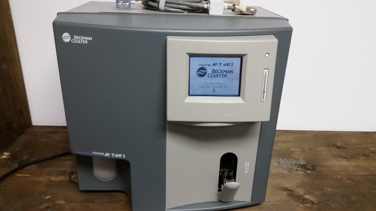 Beckman Coulter ACT DIFF 2 Hematology Analyzer