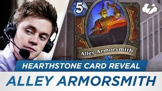 Reynad Reveals Alley Armorsmith from The Mean Streets of Gadgetzan [Hearthstone]