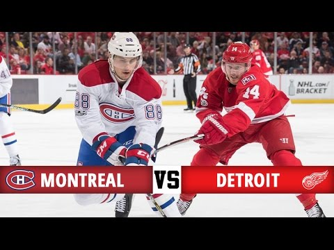 Montreal Canadiens vs Detroit Red Wings | Season Game 82 | Highlights (8/4/2017)