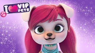 GWEN  VIP PETS  NEW HAIR, LET'S DARE!  CARTOONS and VIDEOS for KIDS in ENGLISH