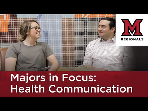 Majors In Focus: Health Communication