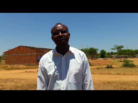 Innocent, Teacher at Bissell School, Zambia