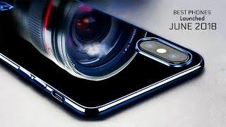 Top 5 Latest Smartphones In June 2018
