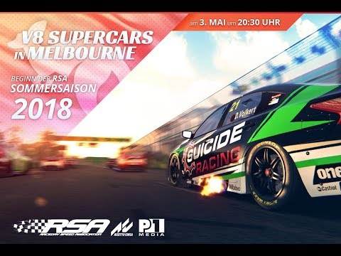 [Assetto Corsa] RSA V8 Supercars - Albert Park