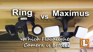 Video Ring Floodlight Cam vs Maximus Floodlight Camera -  Features, Installation, Footage and Pricing. download MP3, 3GP, MP4, WEBM, AVI, FLV November 2018