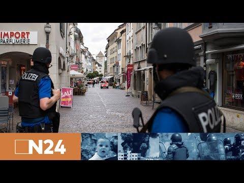 Nachrichten - Mann verletzt mehrere Personen mit Kettensäge in Schaffhausen