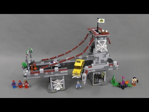Recenzja Lego Marvel Super Heroes Zestaw 76057 Spider Man Web