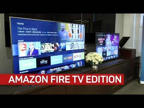 Fire TV Edition is Amazon's Alexa TV