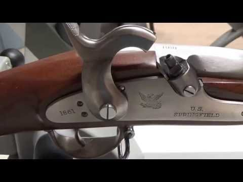 No.2 A Closer Look At The 1861 Springfield .58 Cal. Musket From Dixie Gun Works By Pedersoli