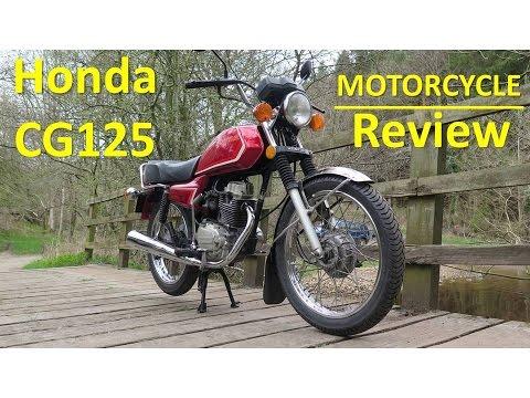 Honda CG125 - Motorcycle Review
