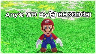 Super Mario Odyssey Any% Speedrun in 59:35 (World Record on 5/7/2019)