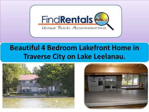 Traverse City Michigan Vacation Rentals and Vacation Homes