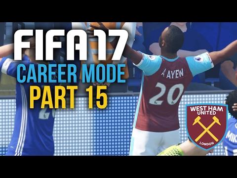 FIFA 17 Career Mode Gameplay Walkthrough Part 15 - BEATING CHELSEA TWICE ??? (West Ham)