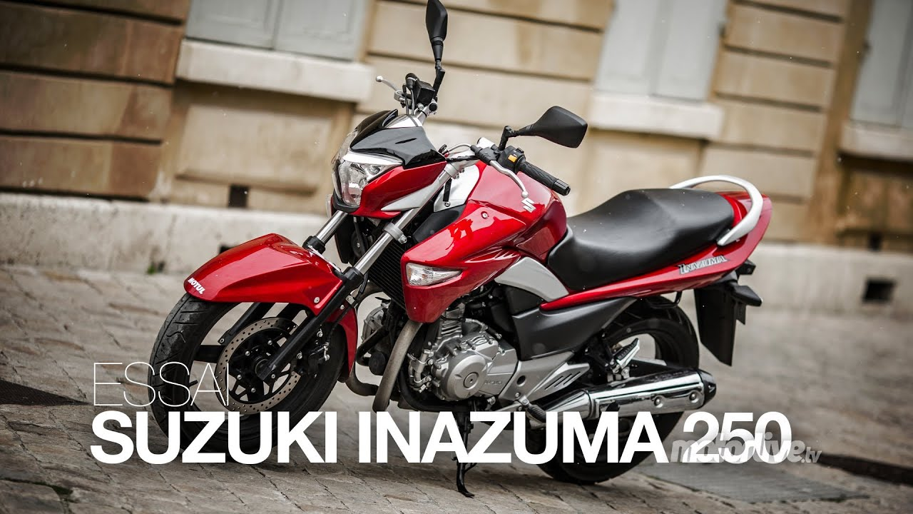 TEST] Suzuki Inazuma 250 - YouTube