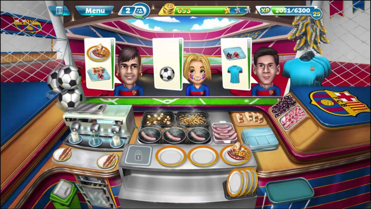 Cooking fever game online, free