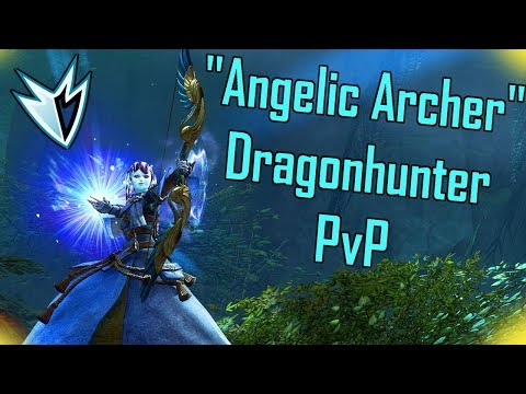 "Guild Wars 2 – ""Angelic Archer"" Dragonhunter PvP Build & Gameplay l Conquest & Stronghold l"