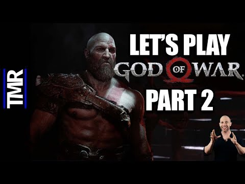 God Of War PS4 - Let's Play Part 2 | Why Won't The Kid Shut Up?