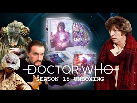 Doctor Who: Season 18 Blu Ray Unboxing