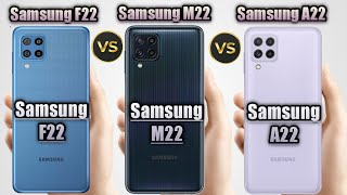 Samsung Galaxy F22 vs Samsung Galaxy A22 vs Samsung Galaxy M22 Full Specification Which One Best