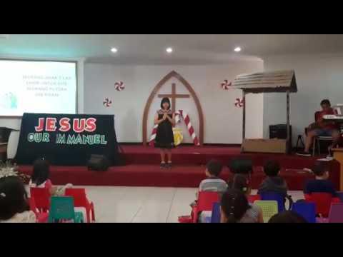 Seorang Anak Telah Lahir -  Live Cover - Natal Sweety Kids GII Holis 2016